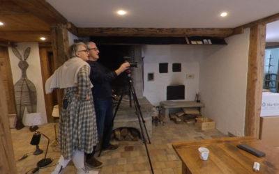 Videodreh bei Arte&Tavola