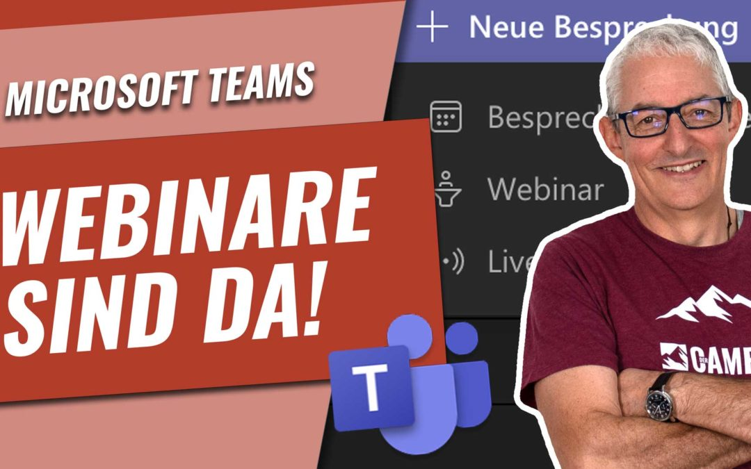 Offene WEBINARE mit Microsoft Teams durchführen