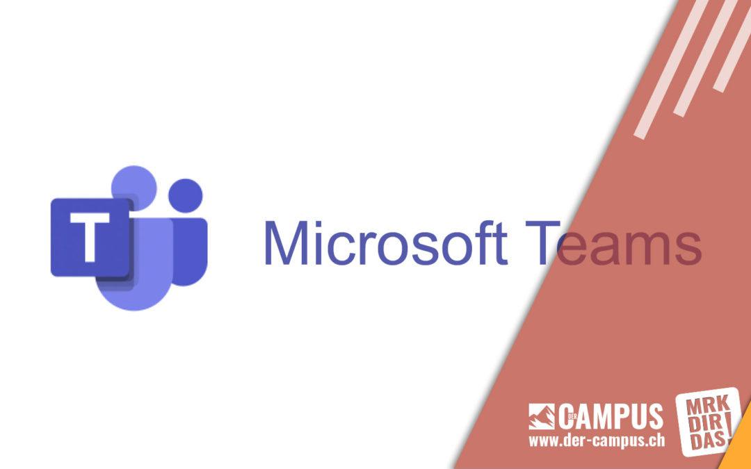 Einladung zu einem Microsoft Team